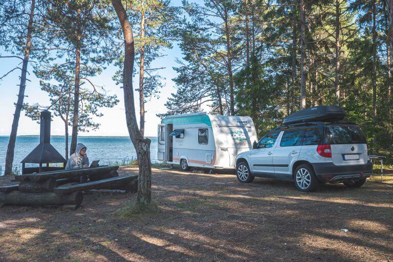 Camping Estland Wasser