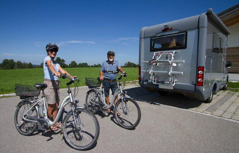 Ebike Efoy Tour Wohnmobil