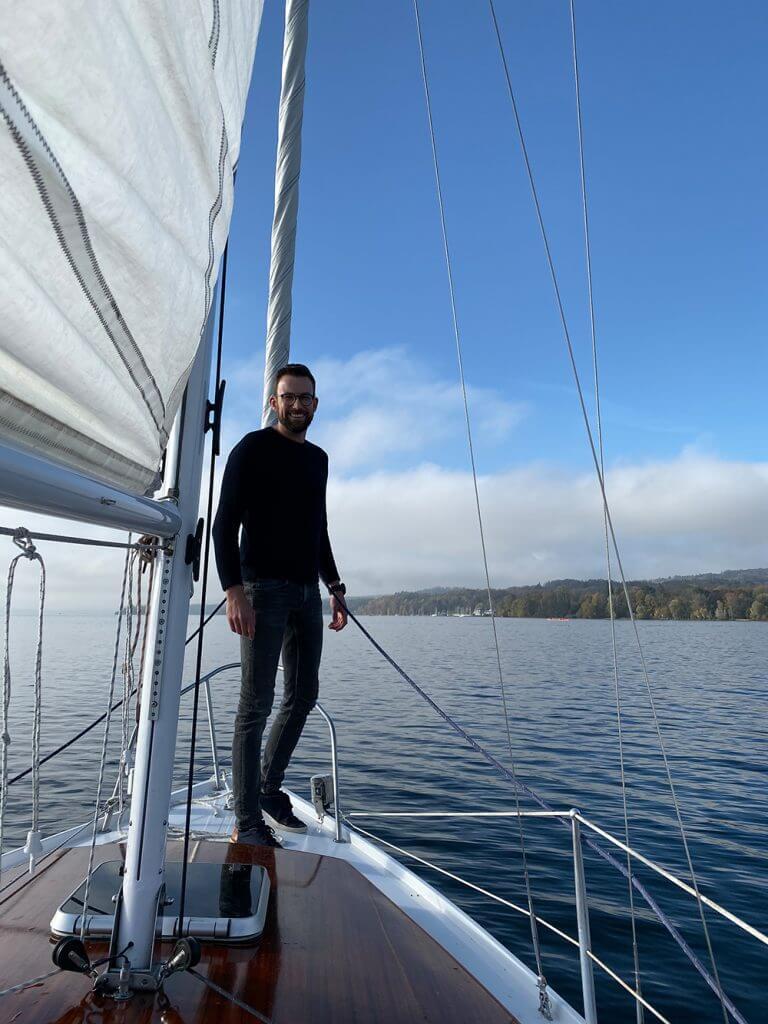Segelboot Segler Bug